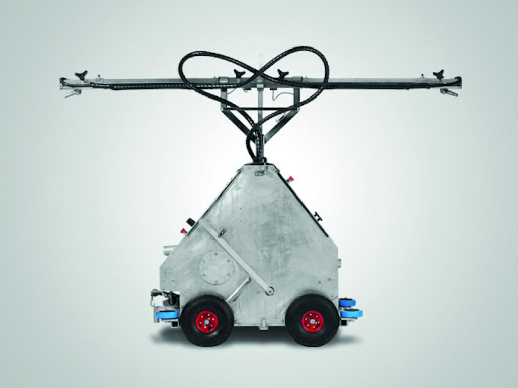 Profesonele schoonmaakrobot